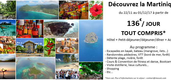 Voyage Mouv'K Martinique